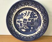 Churchill And039willow Pattern Design Fine English Tableware Side Plate 17cm