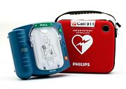 New In Box Philips Heartstart Home M5068a Aed Hs1 2022 Pads Factory Warranty