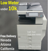 Ricoh Mpc3002 Mp C3002 Color Tabloid Copier Finisher I Print Speed 30 Ppm G0h