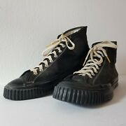 Vintage Converse Chuck Taylor Model Sneakers Orig 1940s Wwii Usa Made 11.5 Shoes
