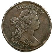 1803 S-247 R-3 Sm Date Sm Frac Draped Bust Large Cent Coin 1c