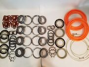 Rockwell M35a2 Military 2.5 Ton Steer And Rear Axle Hub/knuckle Kit Orange Boots