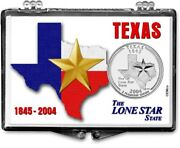 Lot Of Five Texas State Quarter Coin Gift Displays The Lone Star State