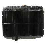 For Ford Mustang 67-70 Acp Fm-er007 Maxcore Copper/brass Engine Coolant Radiator