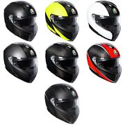 Ships Same Day Agv Sports Modular Carbon Motorcycle Helmet All Colors