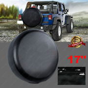 Universal Spare Tire Cover Fit For Jeep Wrangler 17inch Size Xl Wheel Tire Cover