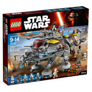 Lego Star Wars Captain Rexand039s At-te 75157 Nisb