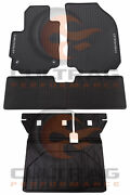 2018-2020 Equinox Gm Front And Rear All Weather Floor Mats And Cargo Liner Black