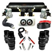 For Buick Roadmaster 1991-1996 Ez Air Ride Elite Front And Rear Air Suspension Kit