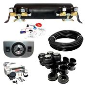 For Pontiac Gto 1964-1972 Ez Air Ride Deluxe Front And Rear Air Suspension Kit