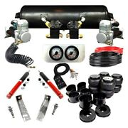 For Chevy Chevelle 64-72 Ez Air Ride Elite Front And Rear Air Suspension Kit