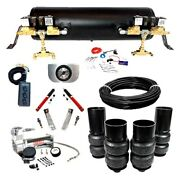For Chevy Bel Air 65-70 Ez Air Ride Platinum Front And Rear Air Suspension Kit