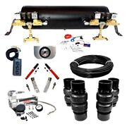 For Buick Roadmaster 91-96 Ez Air Ride Platinum Front And Rear Air Suspension Kit