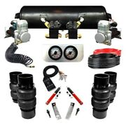 For Oldsmobile Cutlass 78-88 Ez Air Ride Elite Front And Rear Air Suspension Kit