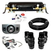 For Pontiac Grand Prix 73-77 Ez Air Ride Deluxe Front And Rear Air Suspension Kit