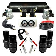 For Cadillac Fleetwood 67-70 Ez Air Ride Elite Front And Rear Air Suspension Kit