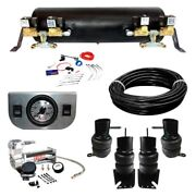 For Chevy Brookwood 1958-1961 Ez Air Ride Deluxe Air Suspension Kit