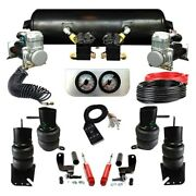 For Cadillac Deville 1958-1960 Ez Air Ride Elite Front And Rear Air Suspension Kit