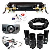 For Chevy Impala 65-70 Ez Air Ride Deluxe Front And Rear Air Suspension Kit