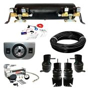 For Chevy Parkwood 59-61 Ez Air Ride Deluxe Front And Rear Air Suspension Kit