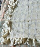 Vintage Saks 5th Ave C1930s Silk And Lace Boudoir Pillow Coverl-19 X W-29