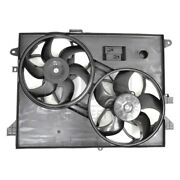 For Saturn Vue 2008-2009 Pacific Best Dual Radiator And Condenser Fan Assembly