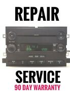 Repair Service For Your Ford Fusion Mercury Milan F150 Mp3 Radio Cd Player