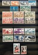 French Oceania / Polynesia 1941 – 1966 Stamp Collection Mostly Mnh