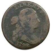 1798 S-178 R-5+ Rev Of And03995 Draped Bust Large Cent Coin 1c