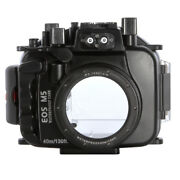 Best 40m Waterproof Camera Housing Dive Case For Canon Eos M5 18-55mm