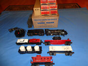 Lionel 1603ws Whistling Mountain Climber Steam Freight Set W/boxes, 2037 Loco