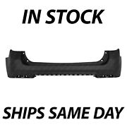 New Primered - Rear Upper Bumper Cover Replacement For 2010-2015 Chevy Equinox