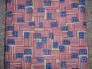 Longaberger Liner, Old Glory, For The Small Purse Basket New