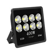 4pcs 400w Led Flood Light Cool White Backpack Waterproof High Power Ip65 Bright