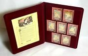 Disney Snow White And The Seven Dwarfs 24k Metal Cards Limited Edition 10/1937