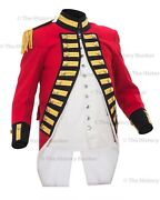 1795 7th Regiment Of Foot Officers Royal Fusiliers Coat Repro - 42 Chest