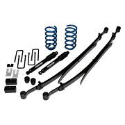 For Chevy Silverado 1500 07-13 Ground Force 2 X 4 Front And Rear Lowering Kit