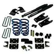 For Chevy Silverado 1500 14-18 Ground Force 2 X 4 Front And Rear Lowering Kit