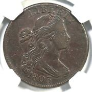 1803 S-250 R-3 Ngc Xf 40 Sm Date Sm Frac Draped Bust Large Cent Coin 1c