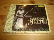 Anne-sophie Mutter The Early Years Dgg 3 Cd + Blu-ray Disc Pure Audio New Sealed
