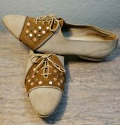 Vintage Studded Amf California Cobbler Leather Bowling Shoes Woman Size 8