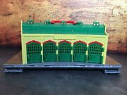 Thomas The Train Take-n-play Plastic Tidmouth Roundhouse With Attached Track