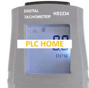 1pc New Hs2234 Laser Photo Tachometer Rpm Meter Non-contact Motor
