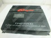 1pc Used Dragster Car Amplifier Dab2200