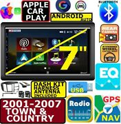 01-07 Caravan Town And Country Apple Carplay Android Auto Bluetooth Touchscreen
