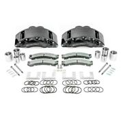 For Ram 2500 2010-2020 Ssbc A404-10blk Barbarian Front Brake Calipers