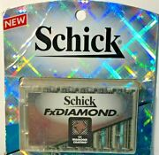 Schick Fx Diamond 10 Refill Blades  Discontinued Damaged Package