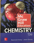 Chemistry Raymond Chang And Jason Overby 13th Edition Hard Cover