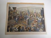 Vintage Collectible Train Pictures, Union Pacific Railroad,the Golden Spike 1944