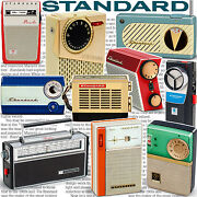 Great Little Radios From Standard - Vintage Antique Transistor Tube Micros Book